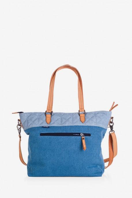 Bolso con Bandolera Azul