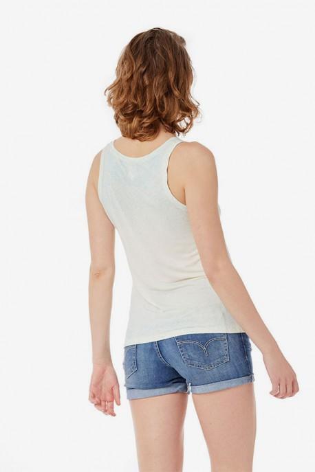 Falda Básica Denim Lua Skirt Plus