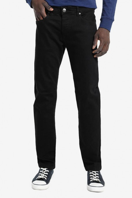 Pantalón Marvin Confort Slim Demin Black