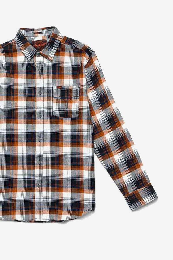 Camisa Franela Cuadros C/Bolsillo