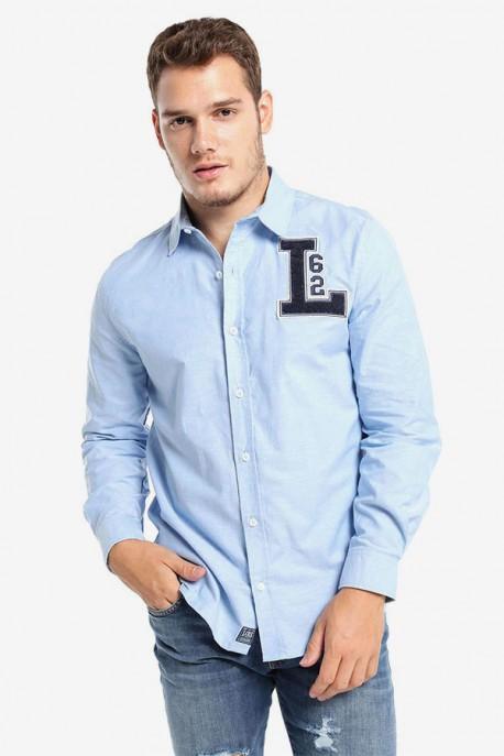 Camisa Oxford School Aplicacip