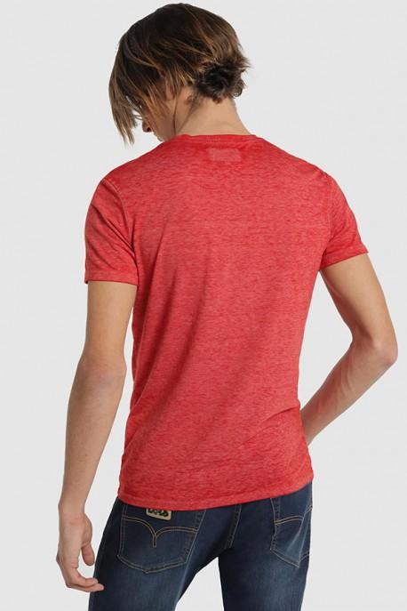 Camiseta M/C con logo bordado
