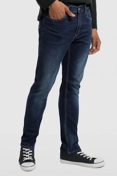 DENIM BLUE- MARVIM SLIM PREMIUN-AULE
