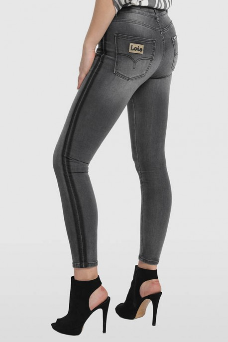 PANTALON DENIM BLACK