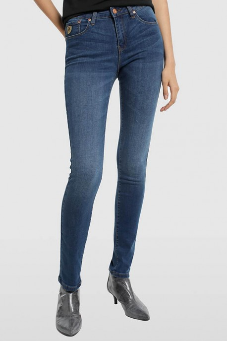 PANTALON DENIM BLUE-LUA-ALINE