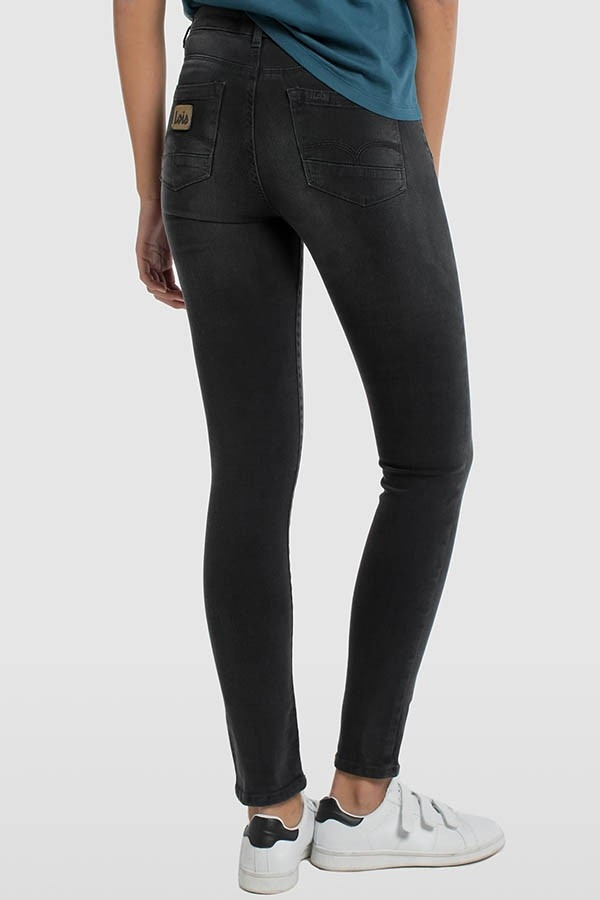 PANTALON DENIM BLACK DOUBLE STONE-LUA-MELINE