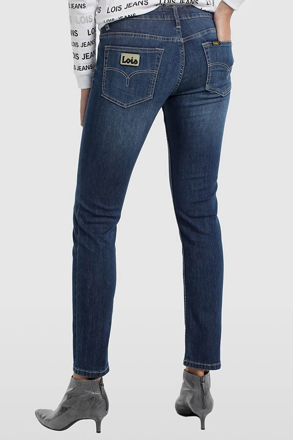 DENIM BLUE SUPER STRECH- SLIMMY-ALEXA