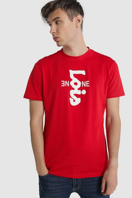 "CAMISETA M/C ""BE LOIS""-FLAME-MAIL"