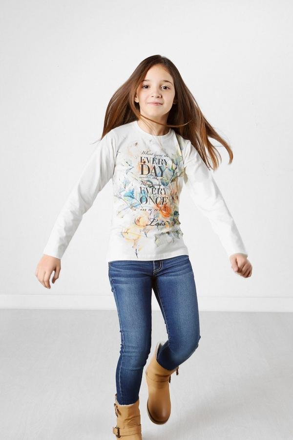 Camiseta Lois flores- Niña
