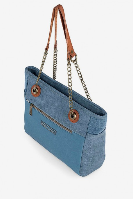 BOLSO SHOPPER KISKA DENIM LOIS
