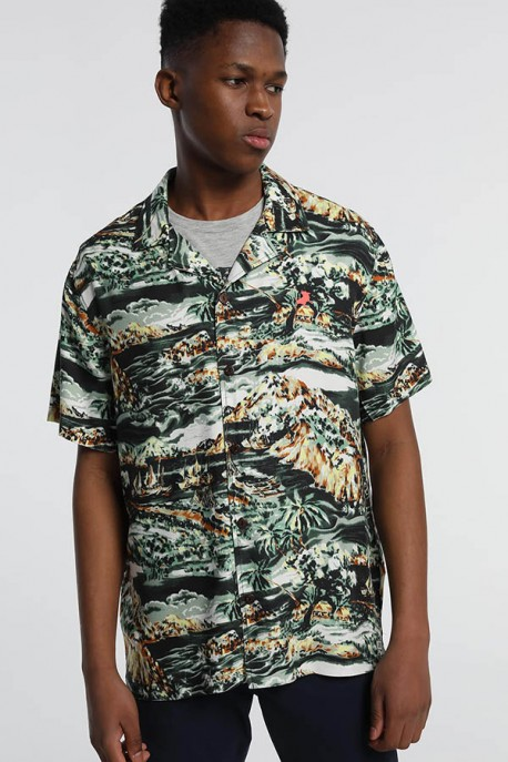 "CAMISA M/C ISLA ""JUNGLE""-OSWALD-HAGAN"