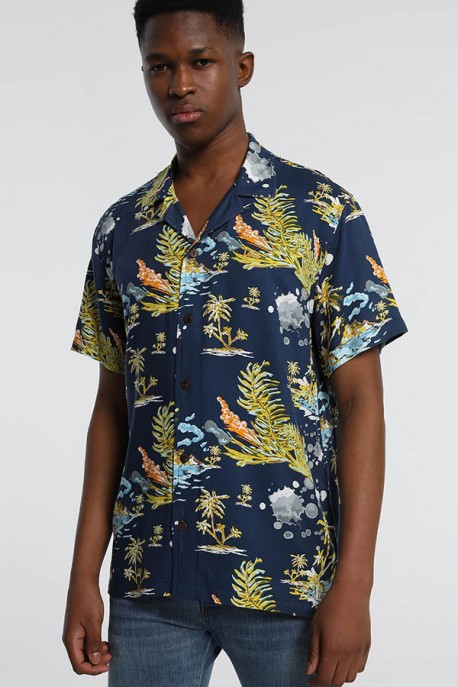 "CAMISA M/C OCEANO ""JUNGLE"" -KENN-KASS"