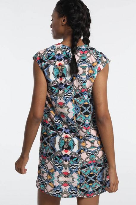 Vestido Full Print CANDRA-KELMAN