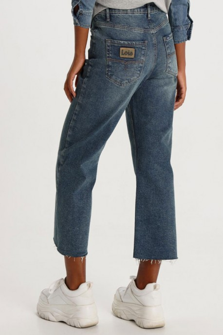 JEANS ANCHO MEDIUM BLUE ASH DENIS