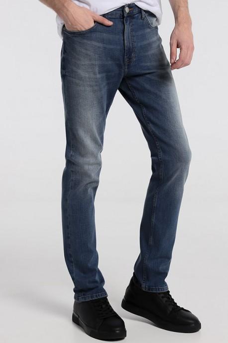 ROBIN-BLING Pantalon Denim Medium Blue