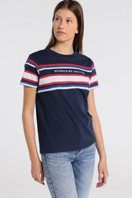 Camiseta Raya Tejida LAND-BANKS