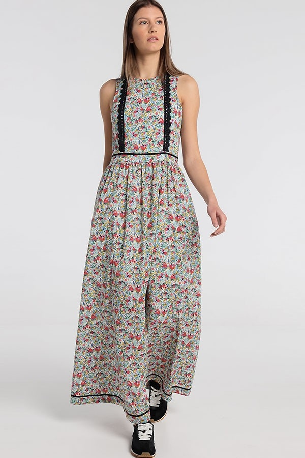 Vestido Flores SAMSARA-FLORIS