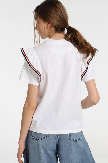 Camiseta Manga Volante VALLEY-FLOWER