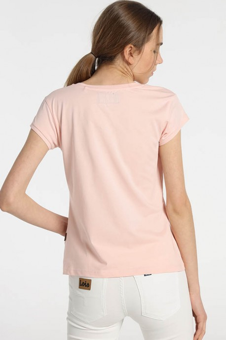 Camiseta Cuello Escote AMAPOLA-IROBI