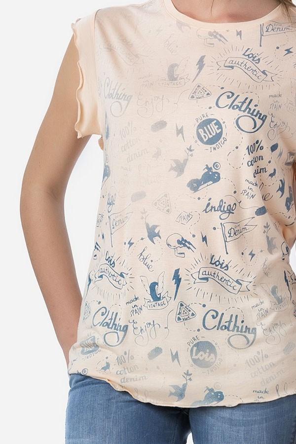 Camiseta Nina Vinta