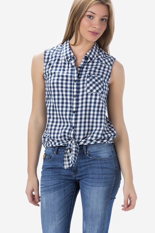 Camisa Western Square - Mujer