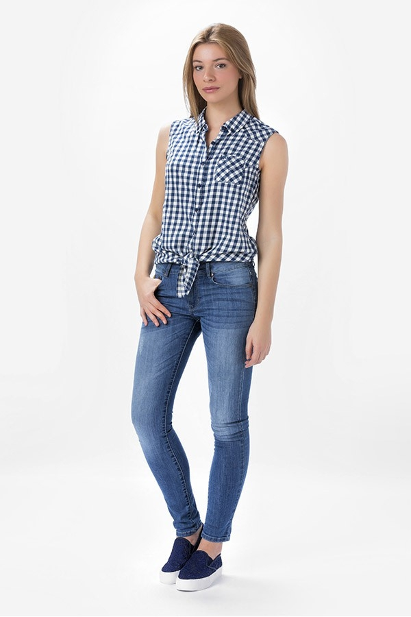Camisa Western Square- Mujer