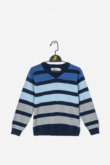 Suéter rayas degradado Lois