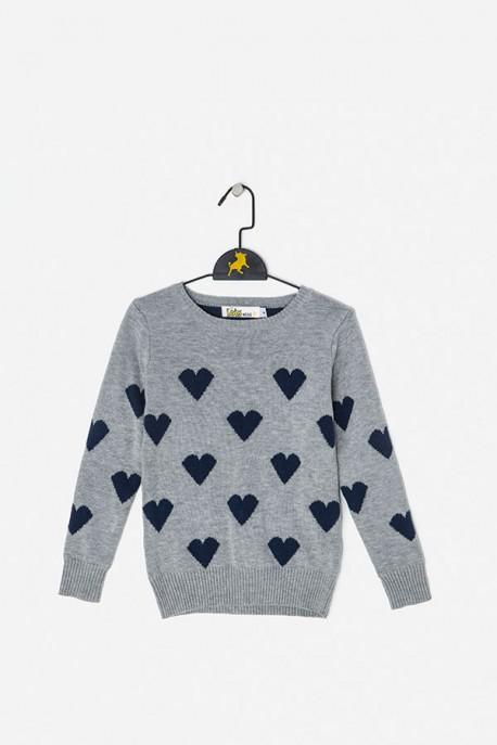 Suéter corazones Lois