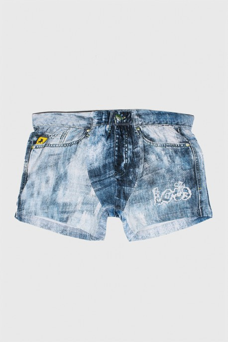Boxer Ripped Jeans Lois